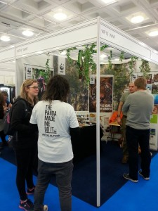 Fundraising for WWF at Destinations Travel Show – February 2017