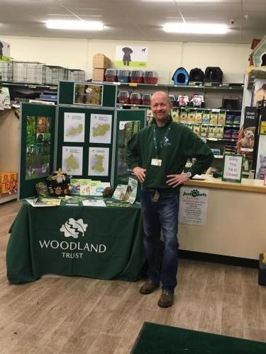 Fundraising for The Woodland Trust