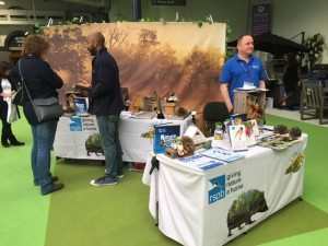 Fundraising for the RSPB at the Ideal Home Show – March 2017