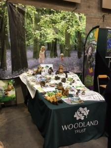 One of our Woodland Trust stands